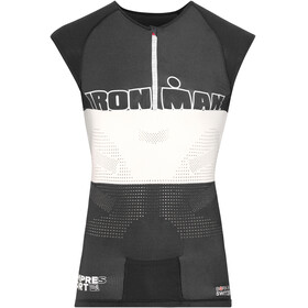 Compressport TR3 Triathlon Tank Top Unisex Ironman Edition Stripes Black
